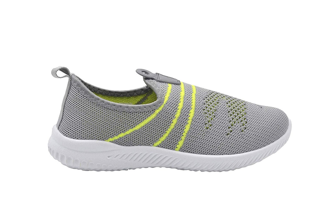 Revo Boys Sneakers Flyknit Slip On Jogger with Rubber Pull Tab