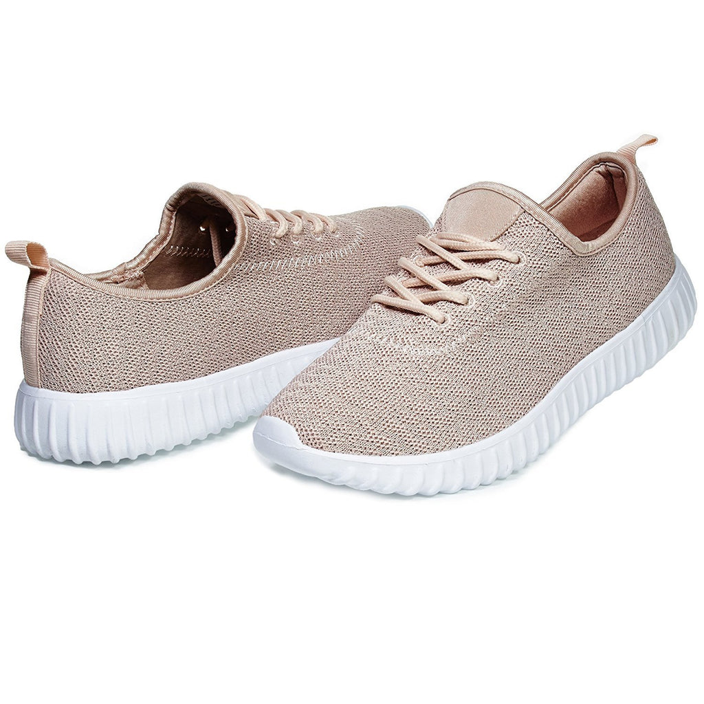Chatties By Sara Z Womens Low Top Fashion Athletic Sneaker Shoes For Ladies Light Weight Running Walking Casual Shoes