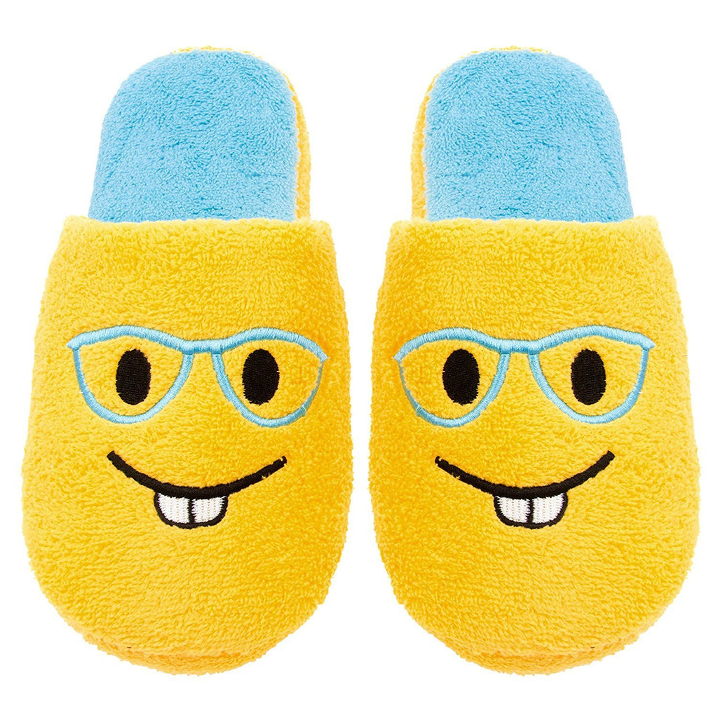 Chatties Ladies Terry Cloth Slip On Embroidered Novelty Bedroom Slippers (See More Styles and Sizes)