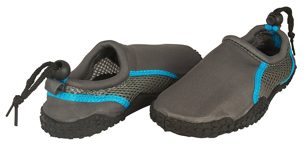 Zack & Evan Boys Neoprene and Mesh Water Beach Shoe With Draw String Size