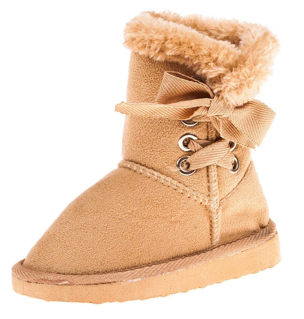 Chatties Toddler Girls 5 Inch Boot with Lace