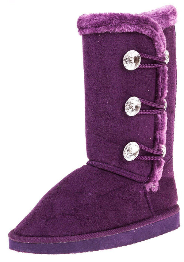 Chatties Girls 6 Inch Boot with Rhinestones