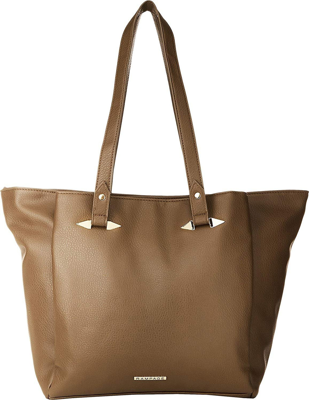 Rampage Women's Tote w/ Spike Handle Hardware Bag