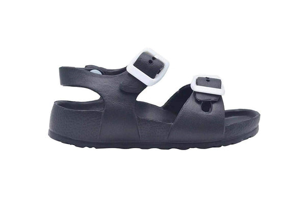 Revo Toddler Boys Sandal Kids Blown Eva Slide Shoe with Buckle Strap
