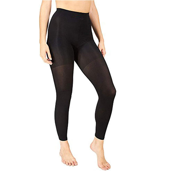 Marilyn Monroe Womens Ladies 2Pack Control Top Footless Opaque Tights (See More Colors and Sizes)