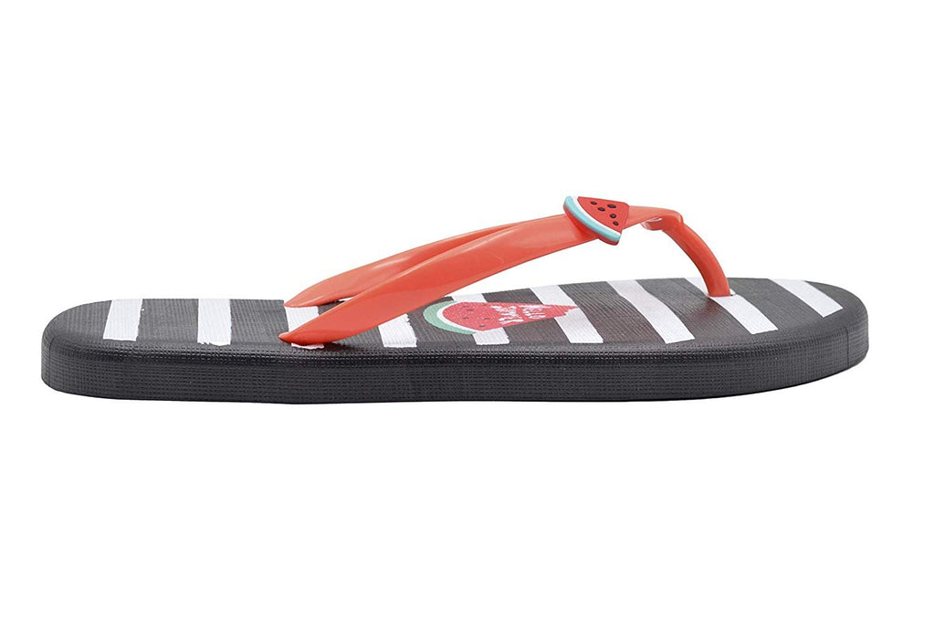 dELiAs Ladies Flip Flops PCU Sandal Slip On Thong Shoe with Fun and Colorful Prints