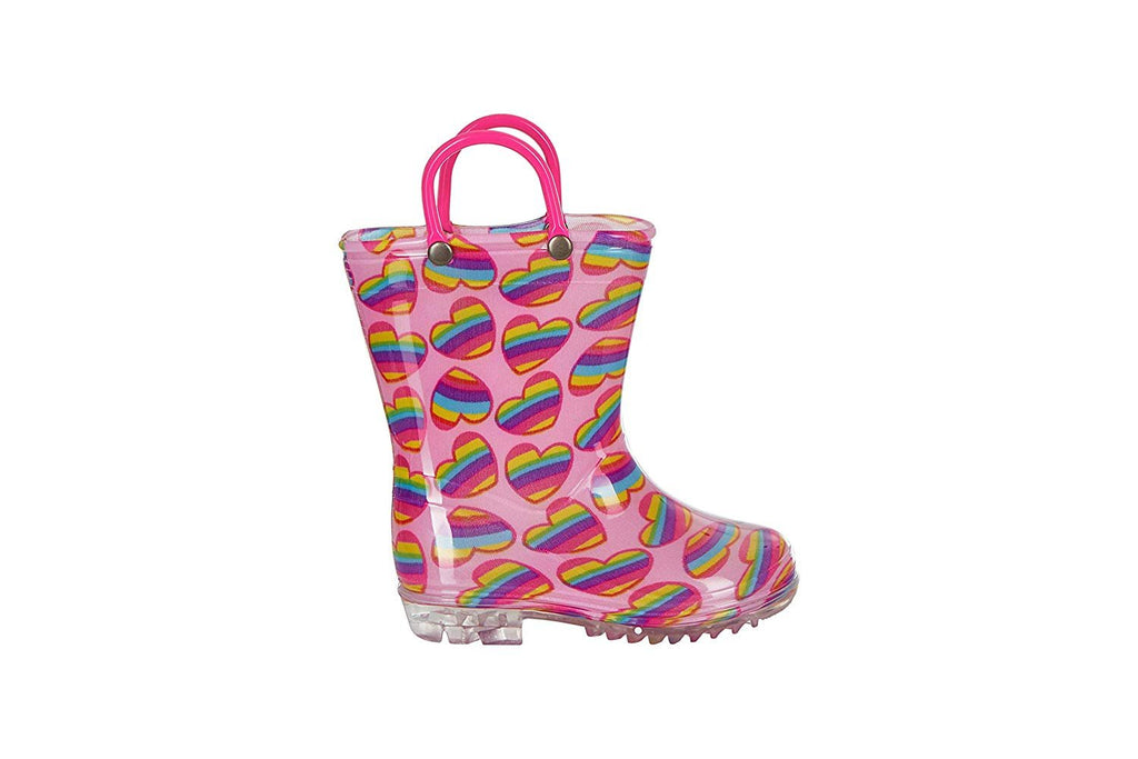 Chatties Toddler Girls Printed Rainboot