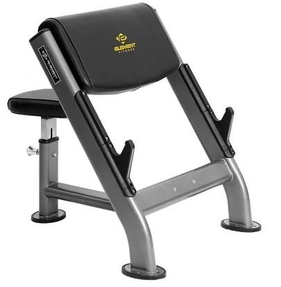 Element Fitness Preacher Curl Bench E-4263