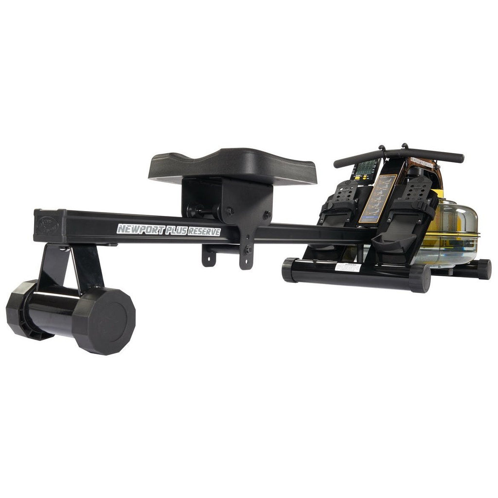 First Degree Fitness Newport AR Plus Reserve Horizontal Series Water Fluid Rower NPTPR