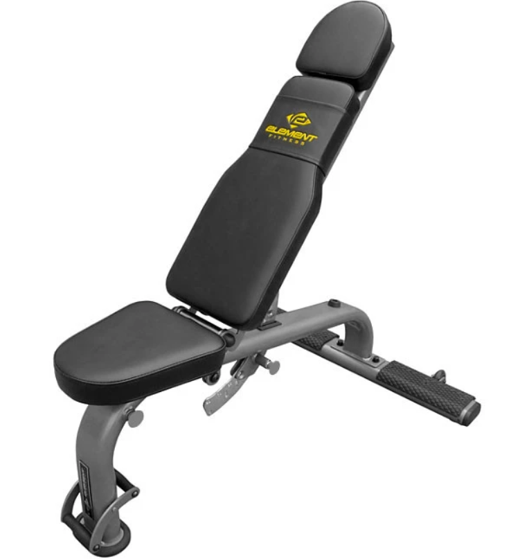 Element Fitness Commercial Flat Incline Decline Bench E-3565