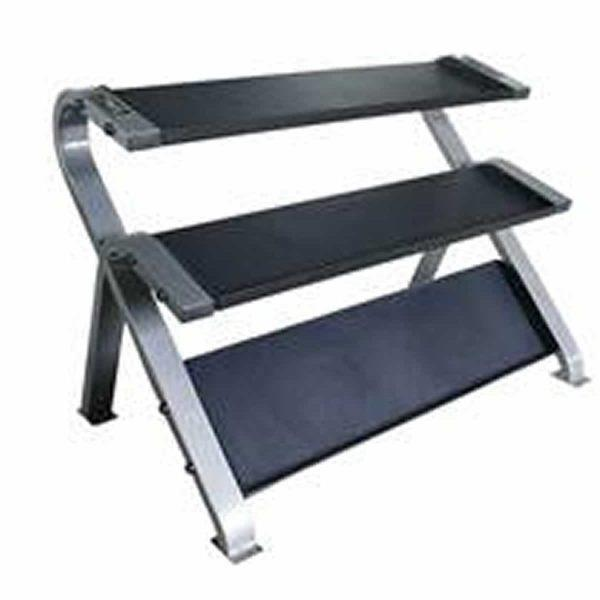 Tag Fitness 3 Tier Horizontal Dumbbell Rack RCK-HDR
