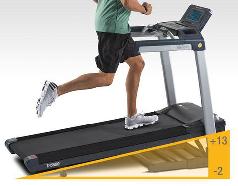 LifeSpan Fitness Folding Treadmill TR5500i