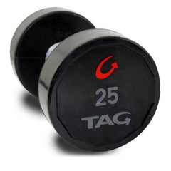 Tag Fitness Premium Pair Ultrathane Dumbbell with Straight Handle DBU