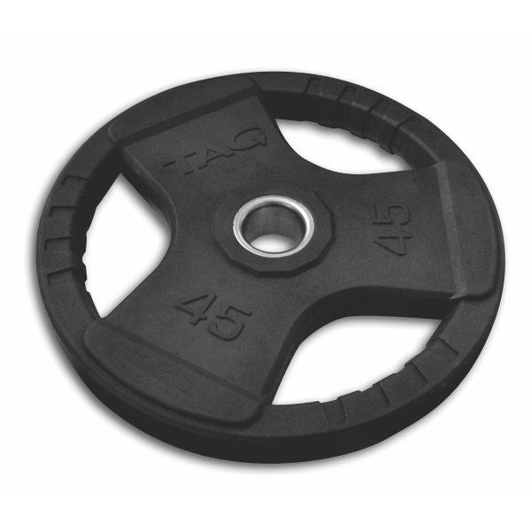 Tag Fitness Set Olympic Grip Rubber Weight Plate RBR-SET