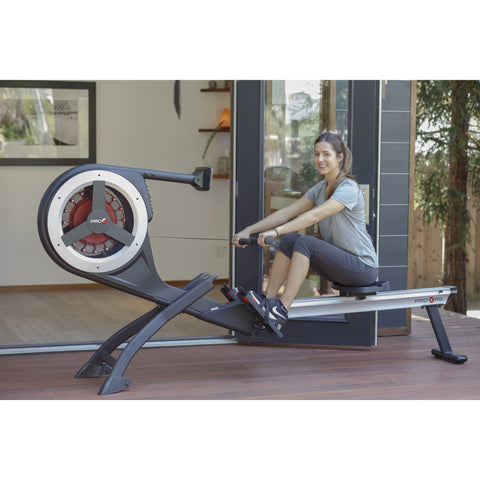 Pro6Fitness R9 Self-Powered Computer Console Magnetic Air Rower PRO6-R9