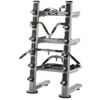 Tag Fitness Olympic Plate Tree Accessory Rack RCK-ACR