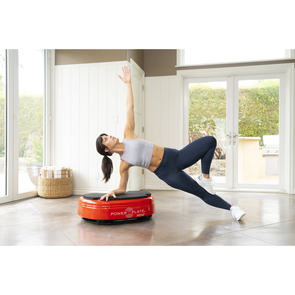 Power Plate Move Red Whole Body Vibration Trainer 71-MOV-3600