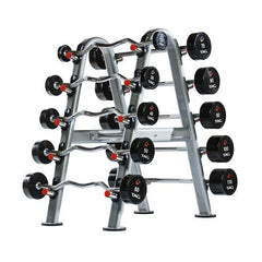 Tag Fitness 10 Unit Fixed Barbell Rack RCK-BBR (RACK ONLY)