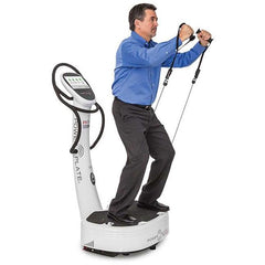 Power Plate FitStop White Whole Body Vibration Trainer 71-MY7-3500