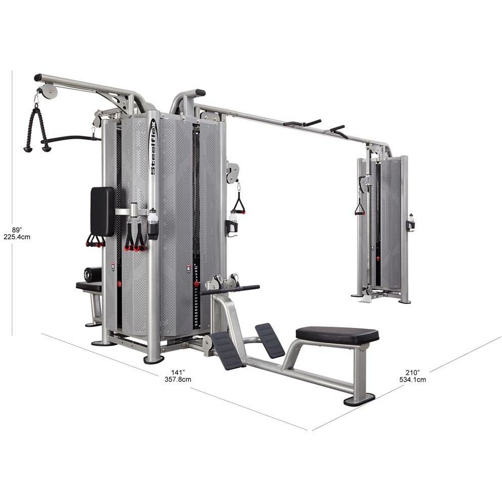 Steelflex JG5000S Multi Stations Commercial Jungle Gym STLFX-JG5000S