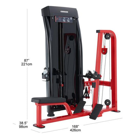 Steelflex JGRM1700 Single Station Seated Row Jungle Gym STLFX-JGRM1700