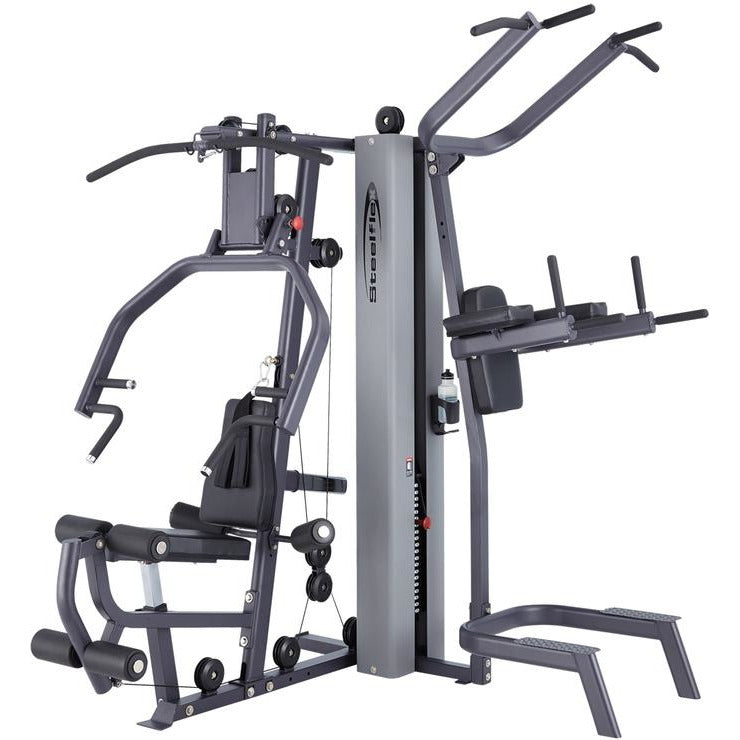 Steelflex MG100B Weight Machine Multi Gym Training System STLFX-MG100B