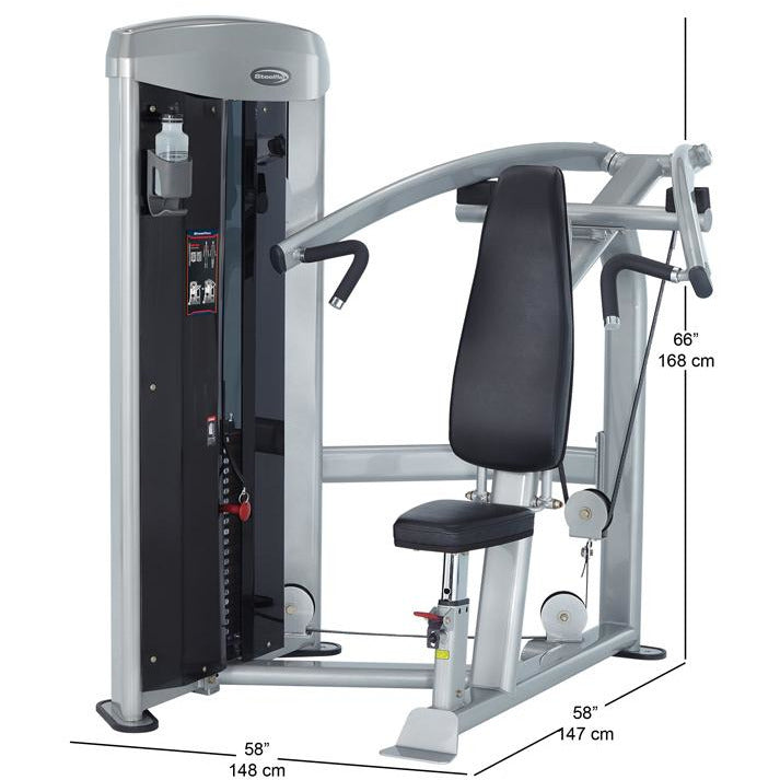 Steelflex MSP800 Commercial Mega Power Shoulder Press Machine STLFX-MSP800