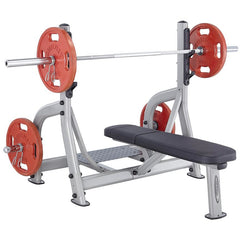Image of Steelflex NOFB Commercial Olympic Flat Bench STLFX-NOFB