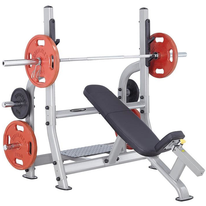 Steelflex NOIB Commercial Olympic Incline Weight Lifting Bench STLFX-NOIB