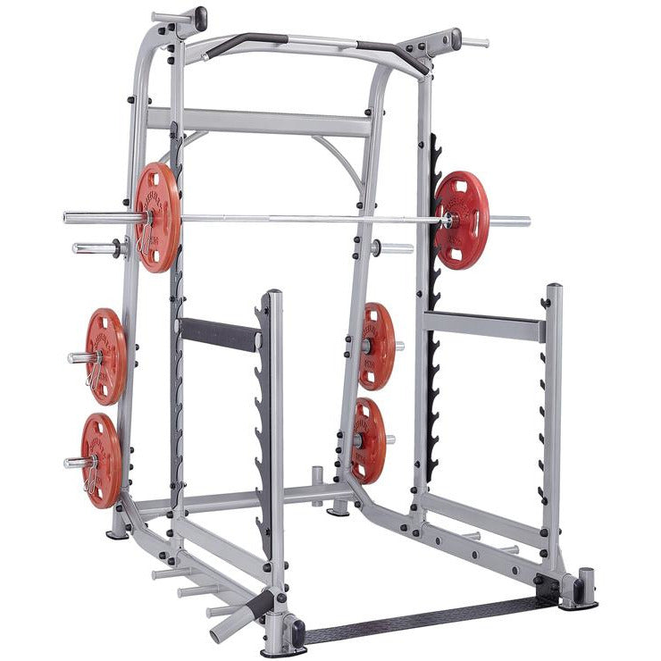Steelflex NOPR Commercial Olympic Press Rack Weight Lifting Power Rack STLFX-NOPR