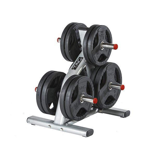 Tag Fitness Stainless Steel Olympic Plate Tree RCK-OPT