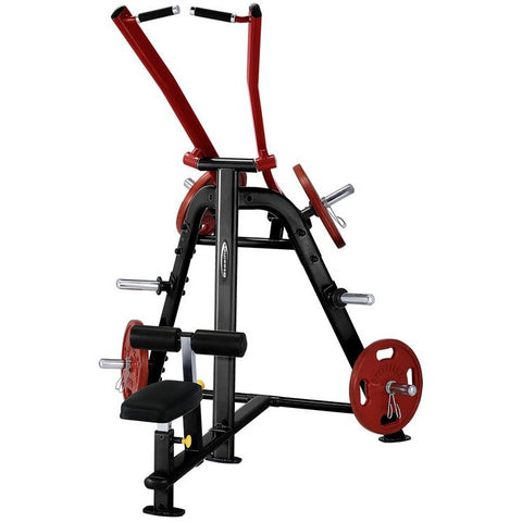 SteelFlex PLLA Adjustable Seating and Leg Hold-Down Bar Lat Pulldown Machine STLFX-PLLA