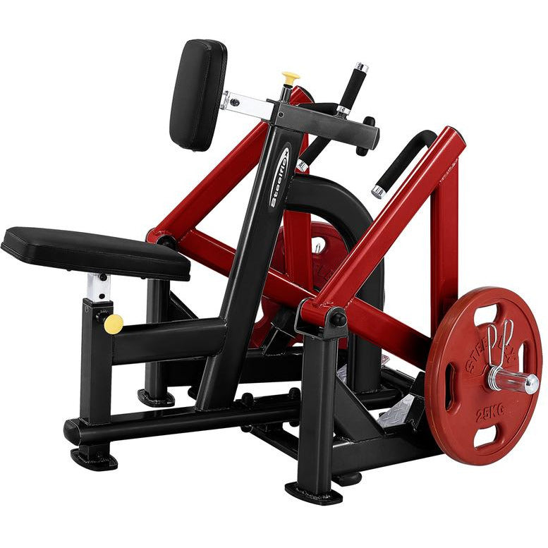 SteelFlex PLSR 10 Degree Diverging Pattern Plate Loaded Seated Row Machine STLFX-PLSR
