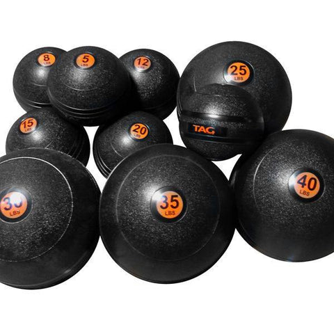 Tag Fitness 5Lb-40Lb Slam Ball Set SLAM-SET