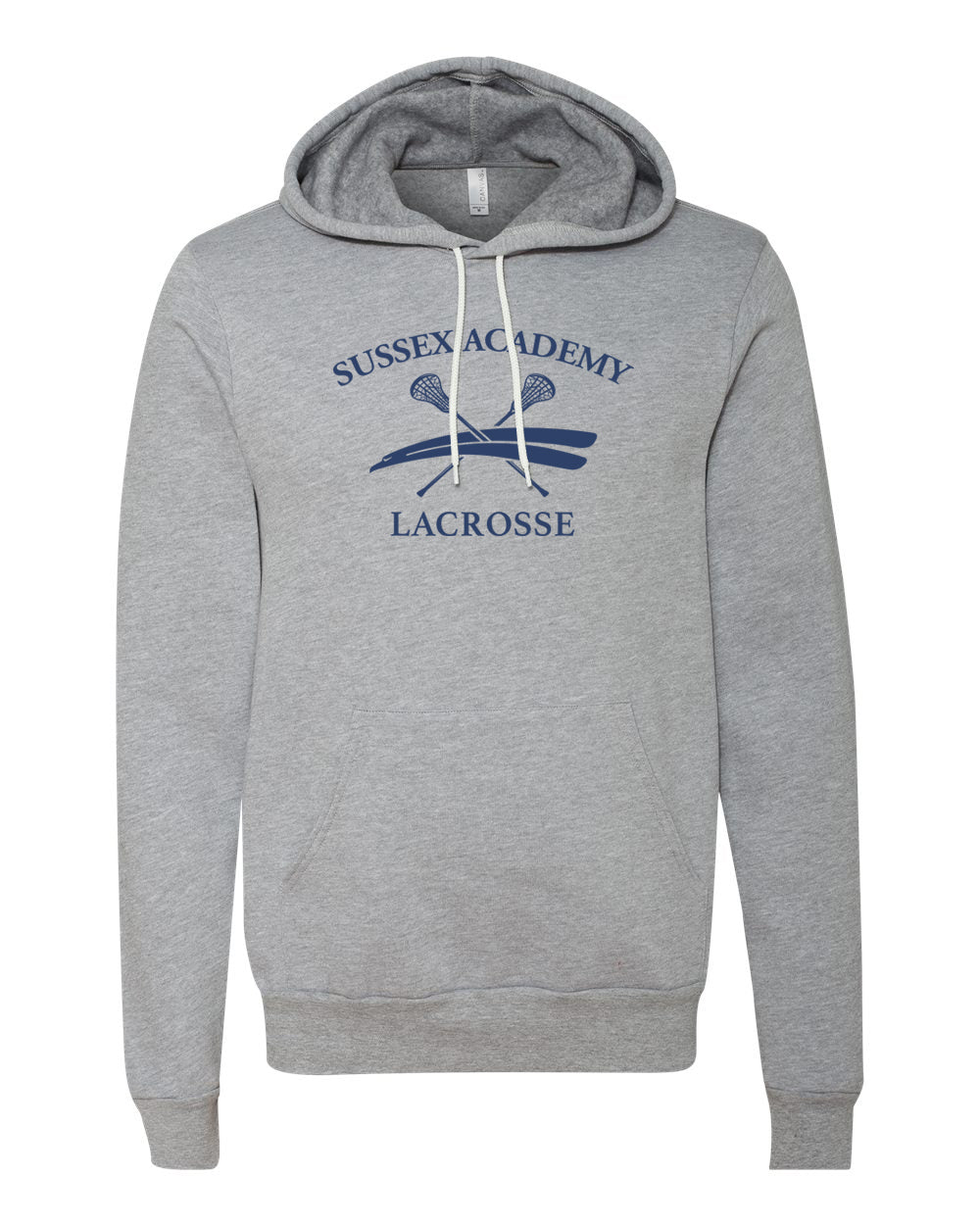 Bella+Canvas - Pullover Hooded Sweatshirt (ADULT)