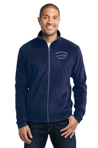 Port Authority® Heather Microfleece Full-Zip Jacket (ADULT)