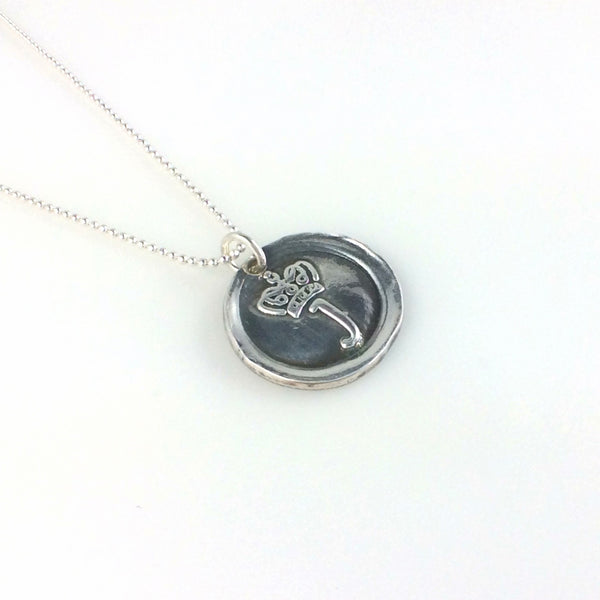 Jewelry Crown Icon Coin Necklace