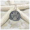 Fine Silver Animal Paw PMC Necklace