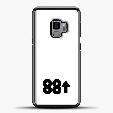 88rising White Black Samsung Galaxy S9 Case, Black Plastic Case | casedilegna.com