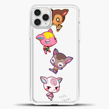Load image into Gallery viewer, Animal Crossing Cute iPhone 11 Pro Case, White Plastic Case | casedilegna.com