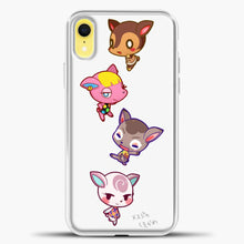Load image into Gallery viewer, Animal Crossing Cute iPhone XR Case, White Plastic Case | casedilegna.com