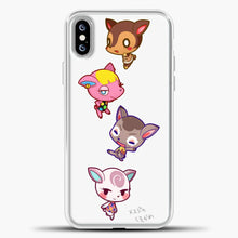 Load image into Gallery viewer, Animal Crossing Cute iPhone XS Max Case, White Plastic Case | casedilegna.com