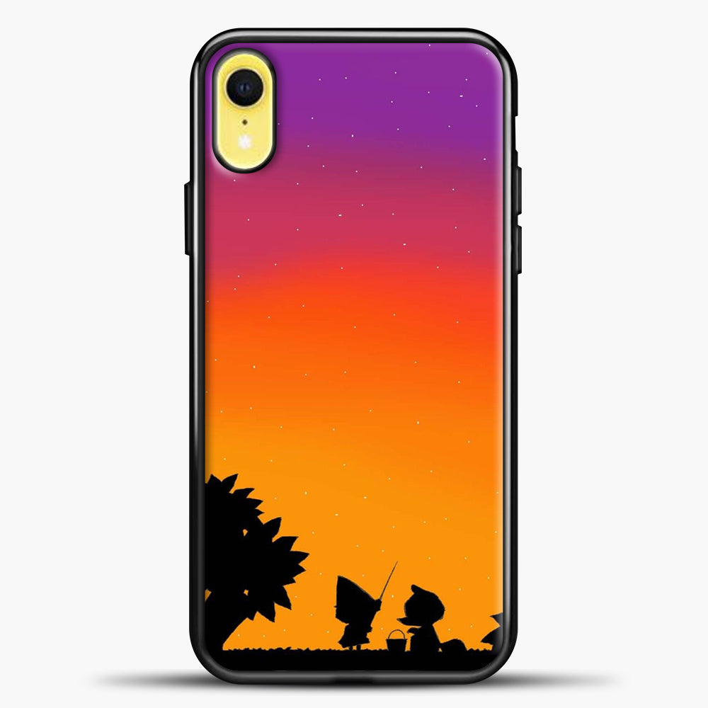 Animal Crossing Duks Cartoon iPhone XR Case, Black Plastic Case | casedilegna.com