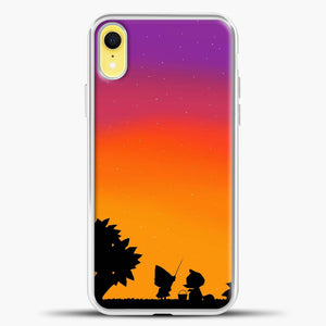 Animal Crossing Duks Cartoon iPhone XR Case, White Plastic Case | casedilegna.com