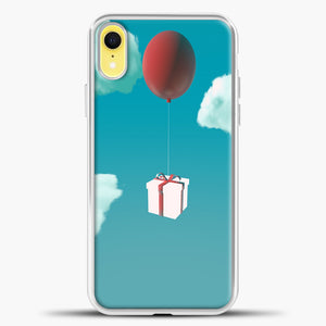 Animal Crossing Flying Gifts iPhone XR Case, White Plastic Case | casedilegna.com