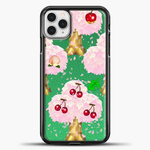 Animal Crossing Fruits Tree iPhone 11 Pro Case, Black Plastic Case | casedilegna.com