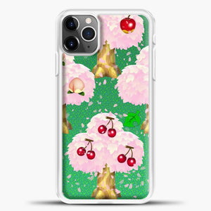 Animal Crossing Fruits Tree iPhone 11 Pro Max Case, White Plastic Case | casedilegna.com