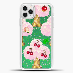 Animal Crossing Fruits Tree iPhone 11 Pro Case, White Plastic Case | casedilegna.com