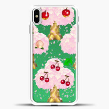 Load image into Gallery viewer, Animal Crossing Fruits Tree iPhone X Case, White Plastic Case | casedilegna.com