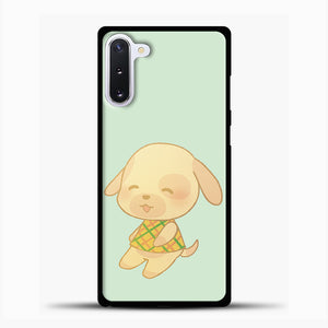 Animal Crossing Goldie Samsung Galaxy Note 10 Case, Black Plastic Case | casedilegna.com